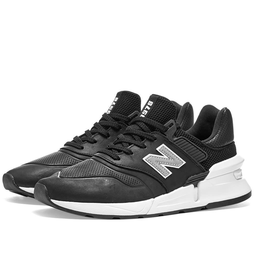 6ef64bff437 Comme des Garcons Homme x New Balance MS997 Black