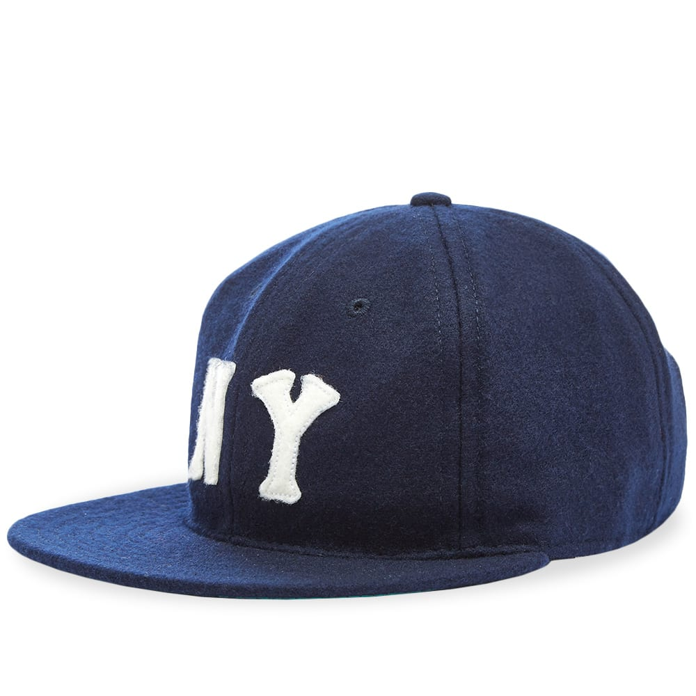 e961e26b31aec Ebbets Field Flannels New York Black Yankees 1936 Cap Navy Wool