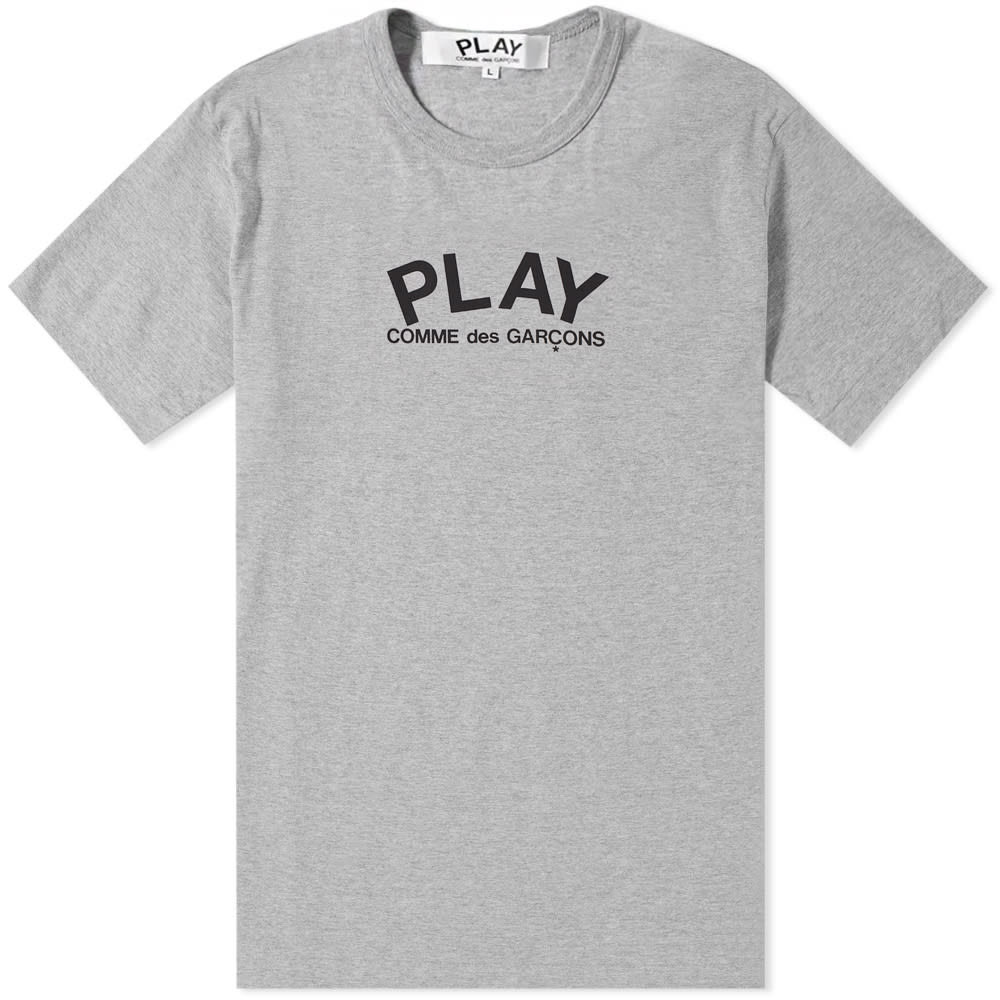 Comme Des Garcons Play Small Logo Text