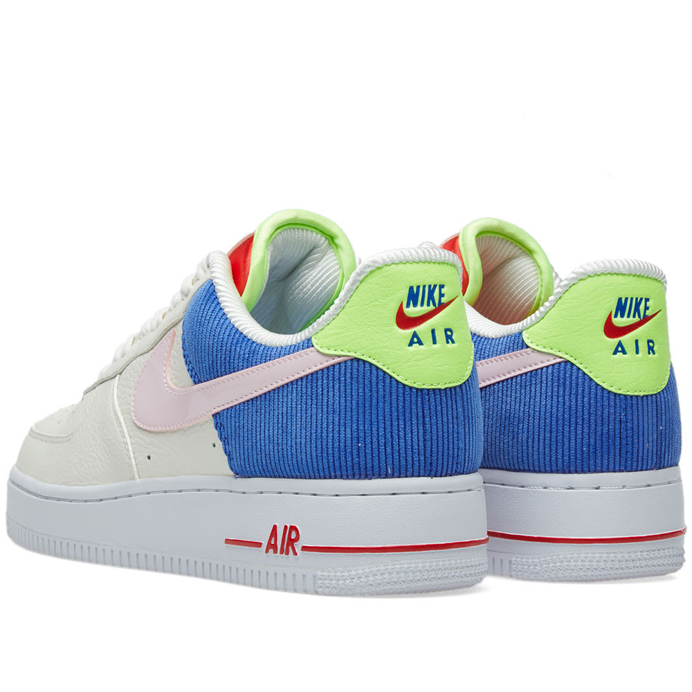 newest a622a ad1b8 Nike Air Force 1 Low W Sail, Arctic Pink   Racer Blue   END.