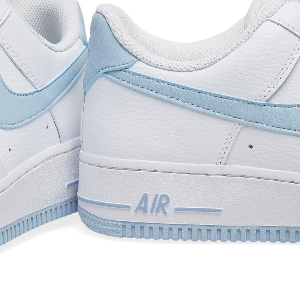 women light blue white nike air force one