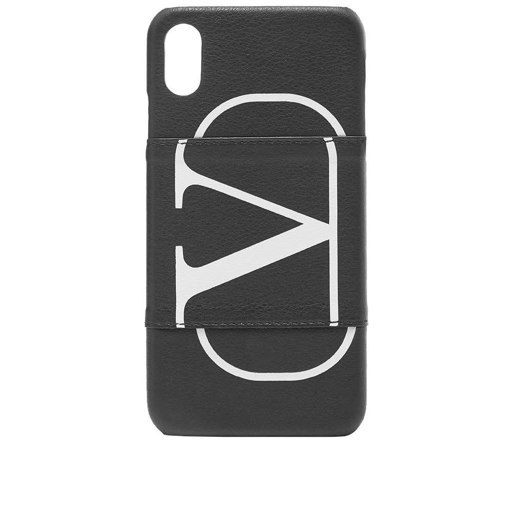 newest 4b017 32e16 Valentino Go Logo iPhone XS Max Case