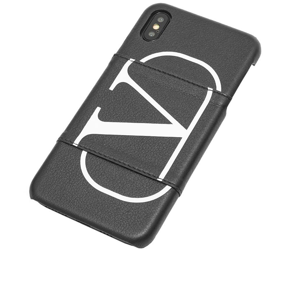 newest e5451 be378 Valentino Go Logo iPhone XS Max Case