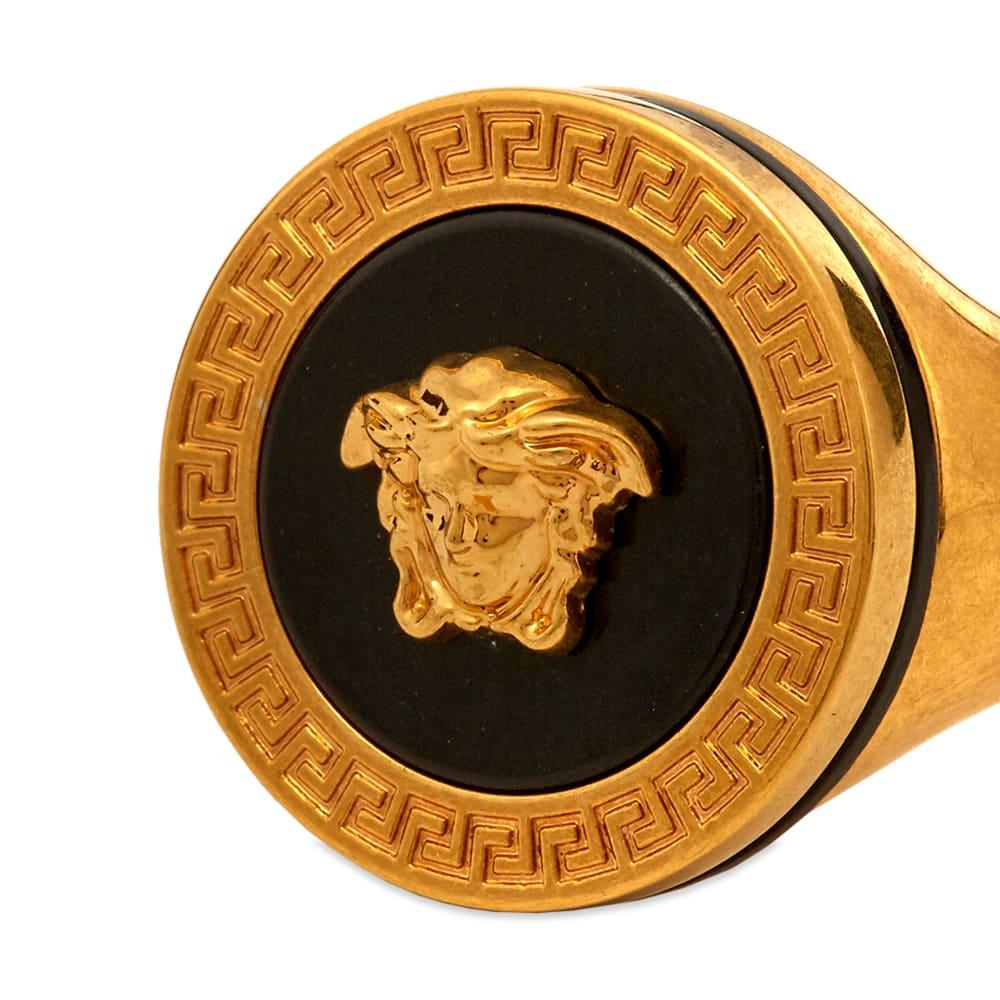 f661df193d Versace Medusa Head Signet Ring
