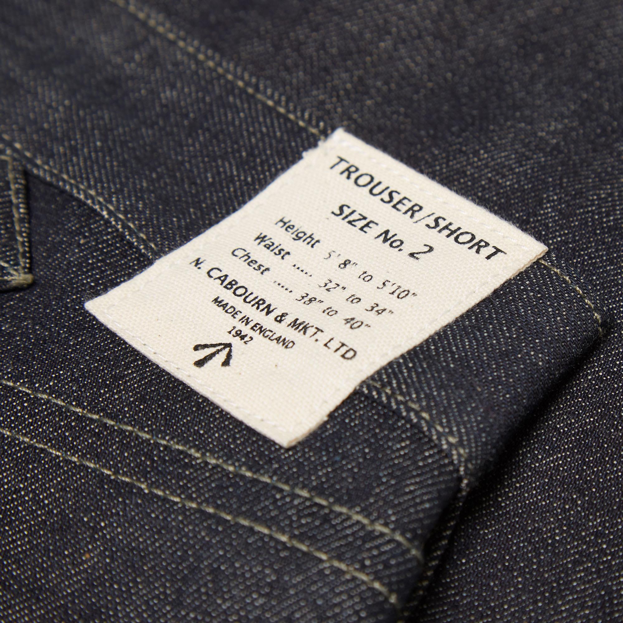 33941ab2a712 Nigel Cabourn 5 Pocket Jean Indigo