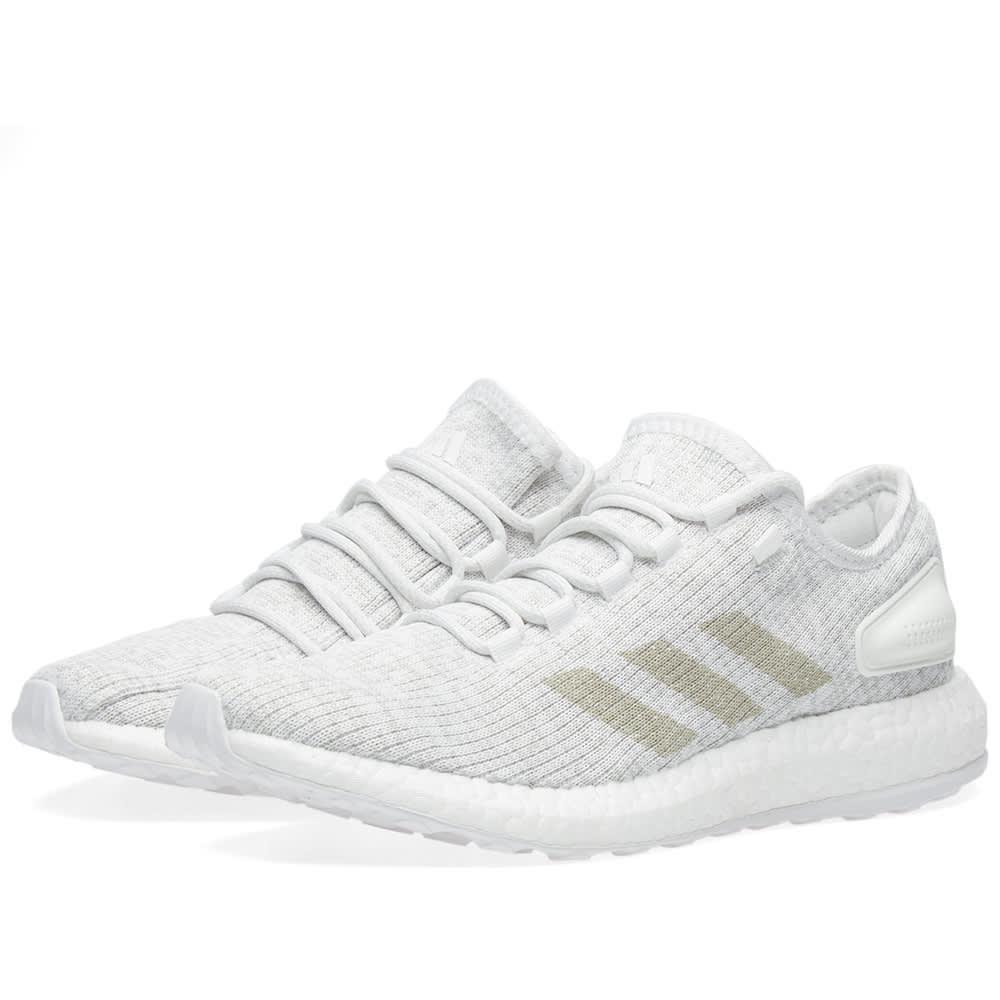 Adidas Pure Boost White \u0026 Grey | END.