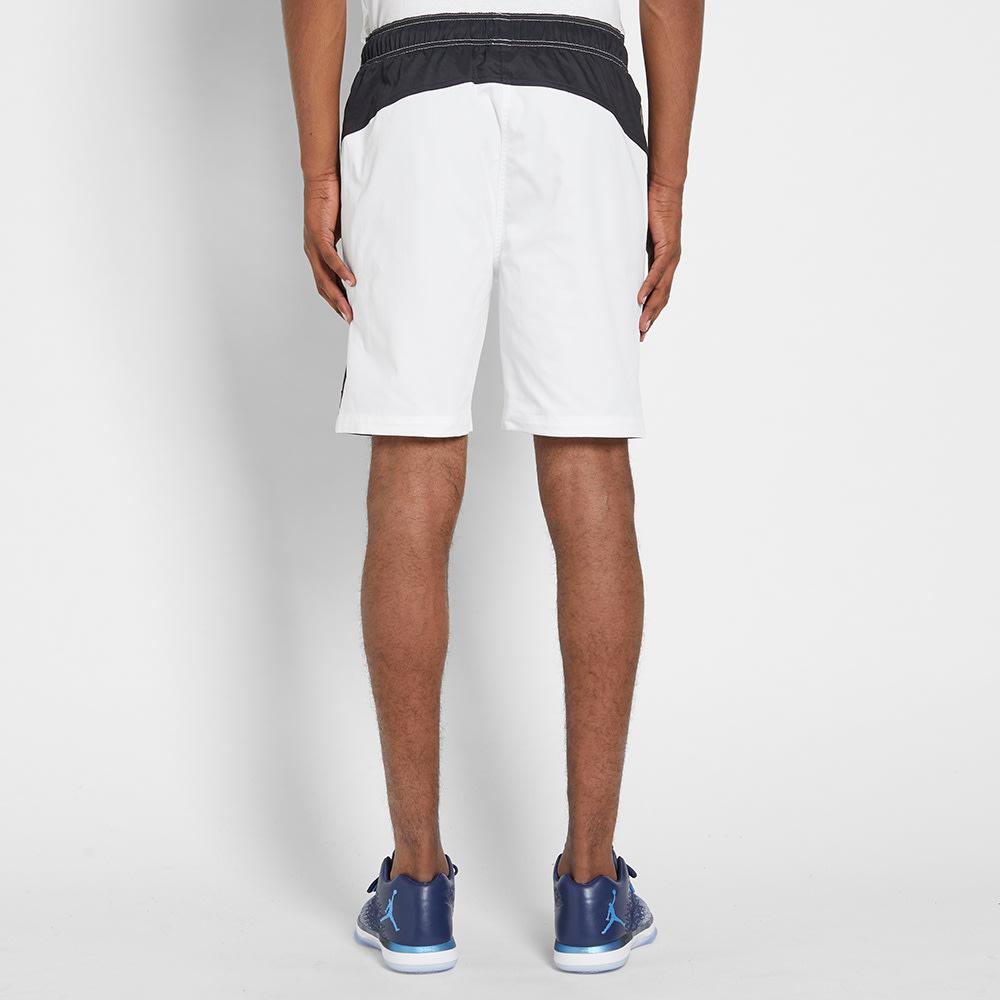 93301a0e08b0 Nike Jordan Blue Label Muscle Shorts Black   White