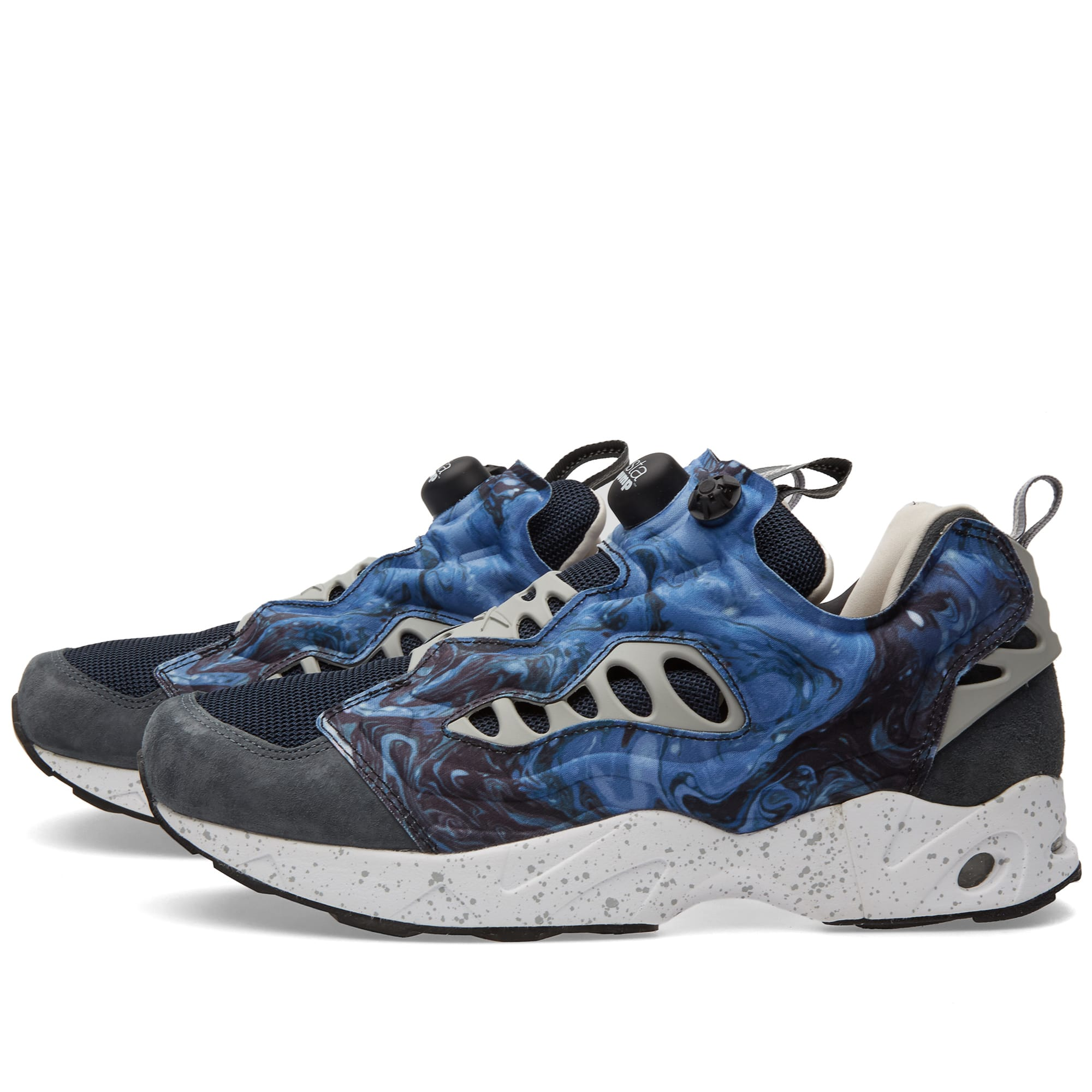 83c24ce06 Reebok x Garbstore Instapump Fury Road Sound Blue   Graphite