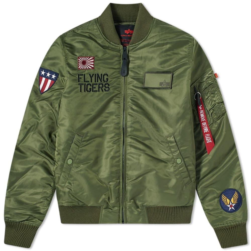 bc2ddb960 Alpha Industries MA-1 VF Flying Tigers Jacket