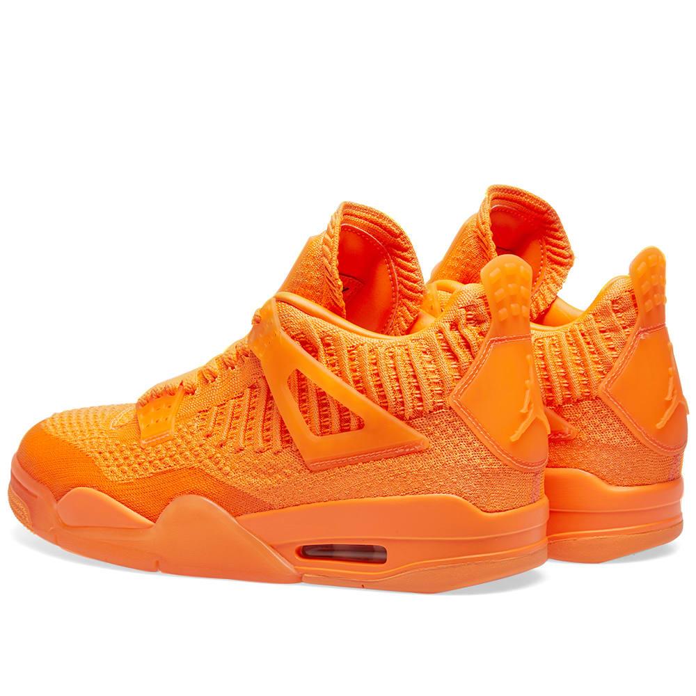 Air Jordan 4 Retro Flyknit Total Orange