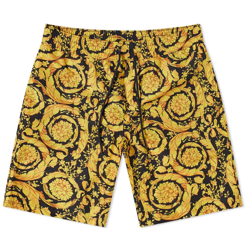 Versace All Over Print Baroque Swim Short