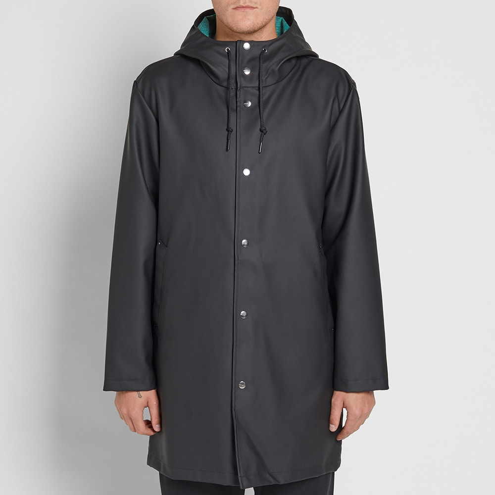 f5e1f69f Adidas EQT Rain Jacket Black & Sub Green | END.