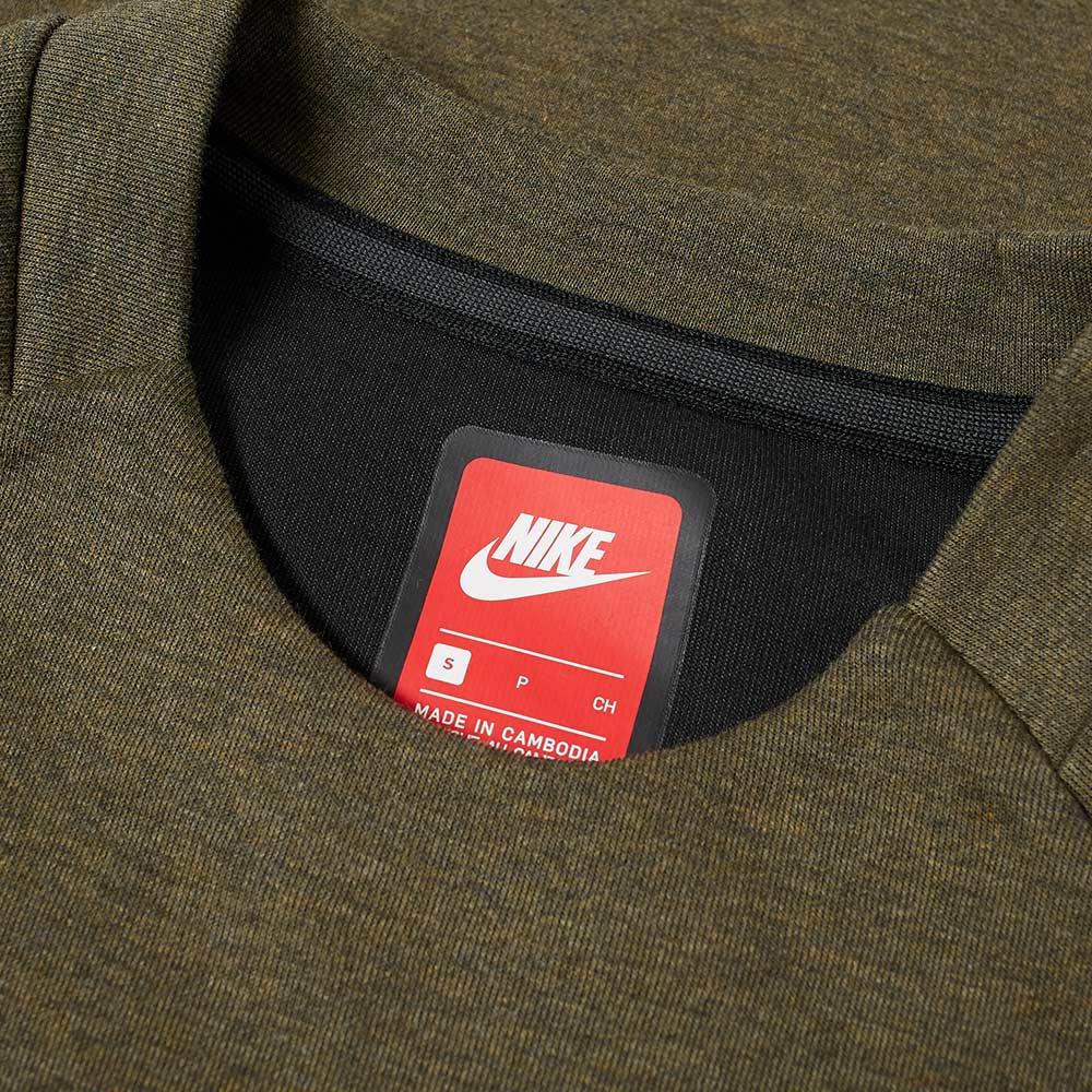 Medium Crew Heatheramp; Nike Fleece Olive BlackEnd Tech sQtdChxr