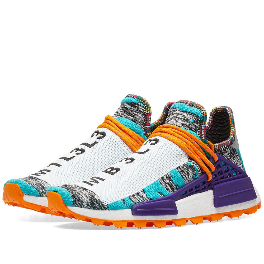 7334389dc Adidas Originals by Pharrell Williams SOLARHU NMD Aqua