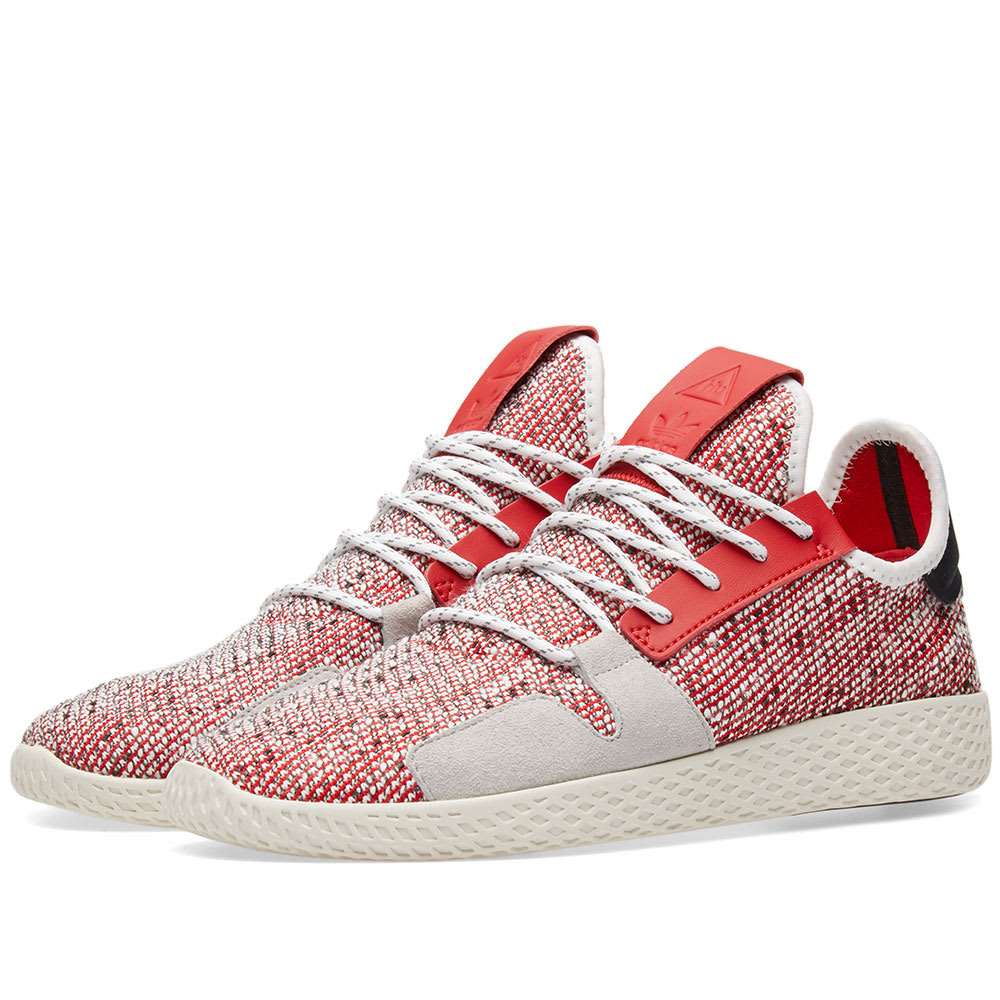 491408f6b317c Adidas Originals by Pharrell Williams SOLARHU Tennis V2 Scarlet ...