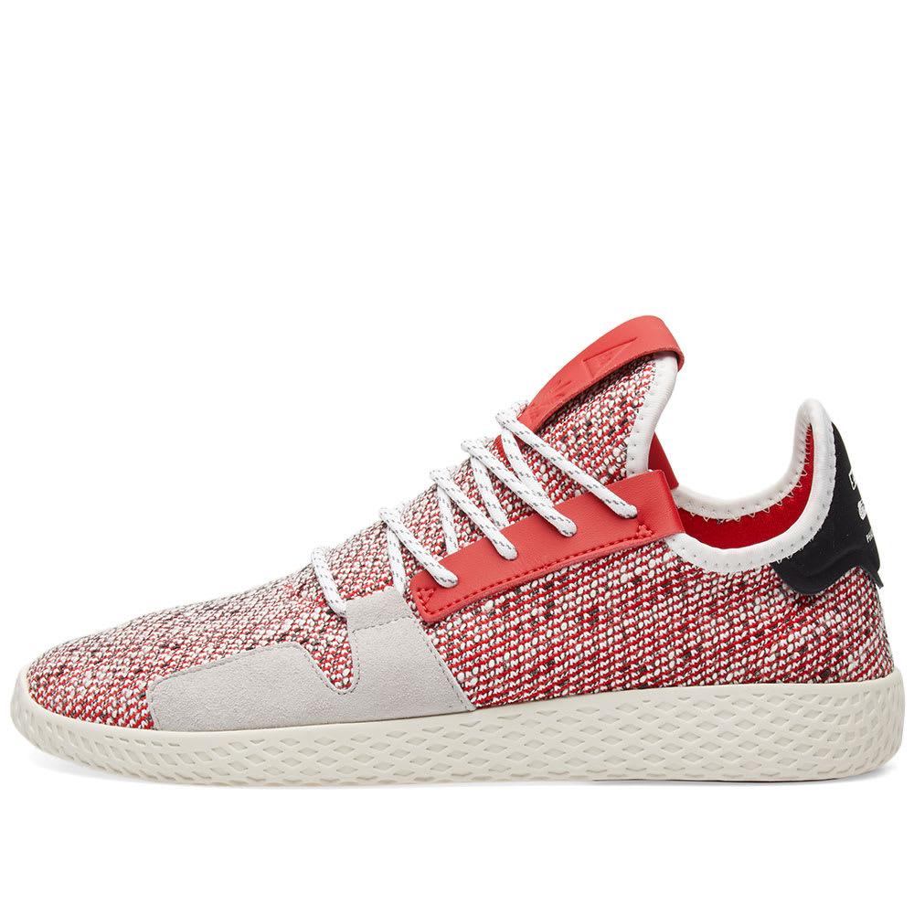 a9055c2ed Adidas Originals by Pharrell Williams SOLARHU Tennis V2 Scarlet ...