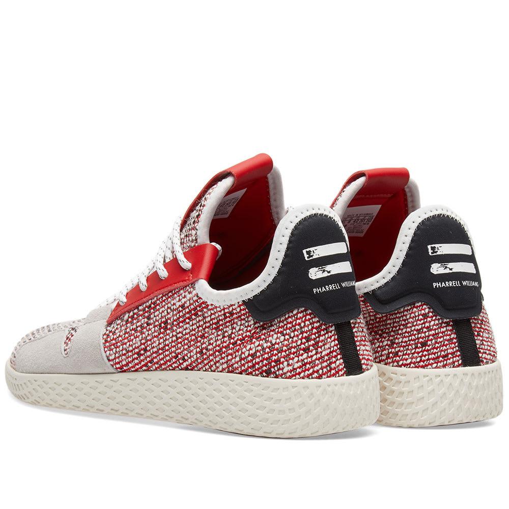 9884cdc6f Adidas Originals by Pharrell Williams SOLARHU Tennis V2 Scarlet ...