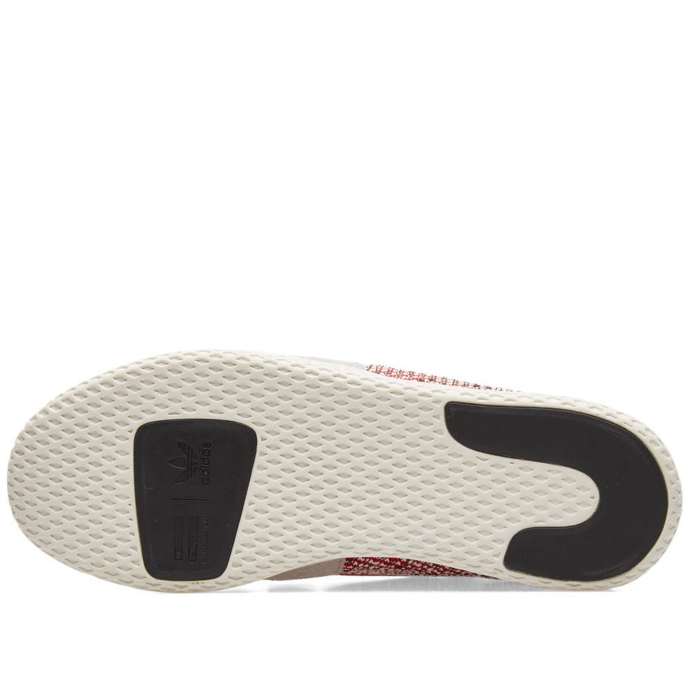 fa1dbb83f Adidas Originals by Pharrell Williams SOLARHU Tennis V2 Scarlet ...