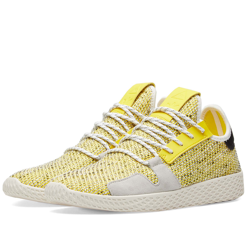 d5ec6b1db462d Adidas Originals by Pharrell Williams SOLARHU Tennis V2 Yellow ...