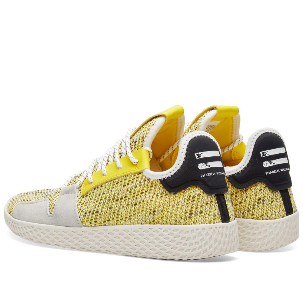 3eb3699c0 Adidas Originals by Pharrell Williams SOLARHU Tennis V2 Yellow ...