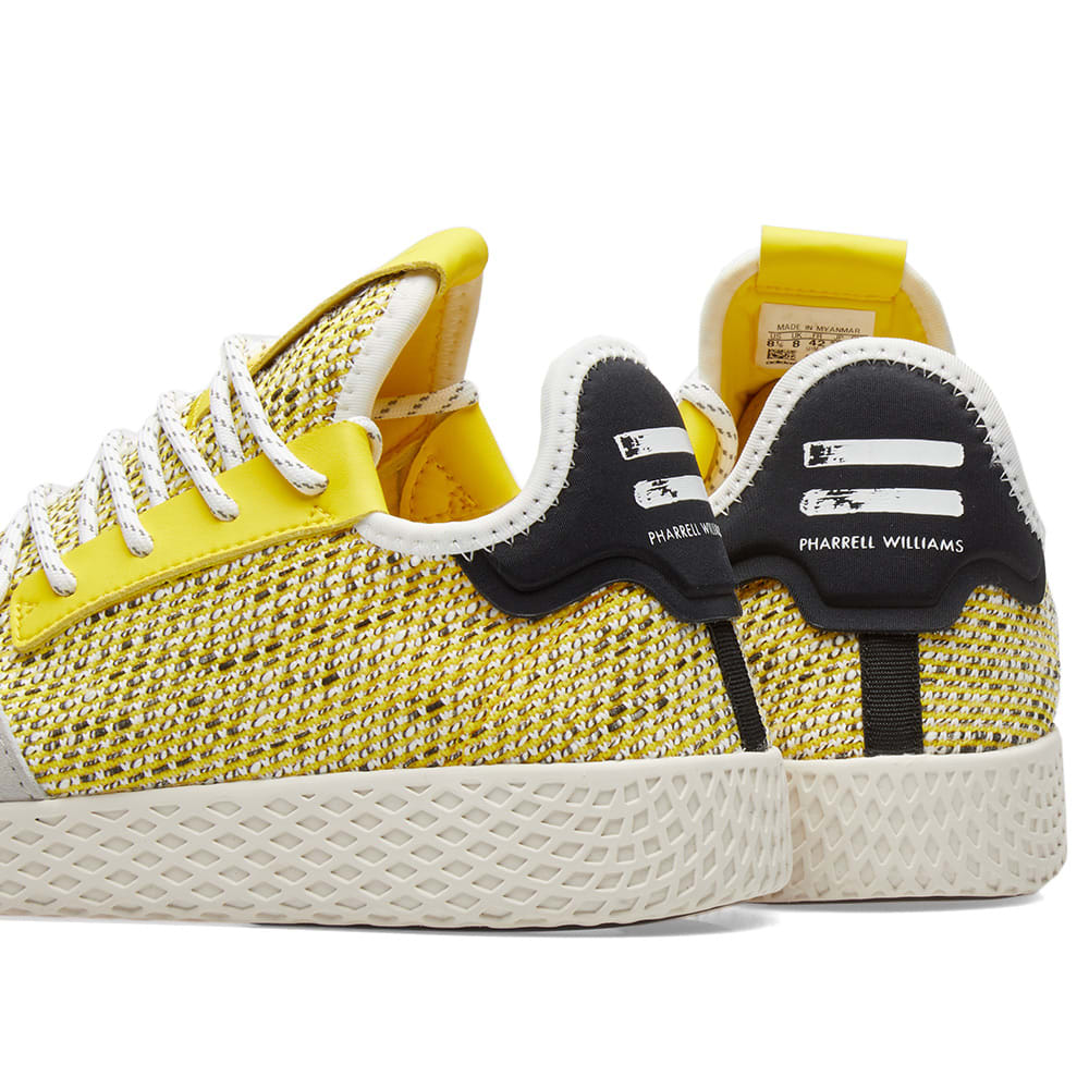 e11c2dd38 Adidas Originals by Pharrell Williams SOLARHU Tennis V2 Yellow ...