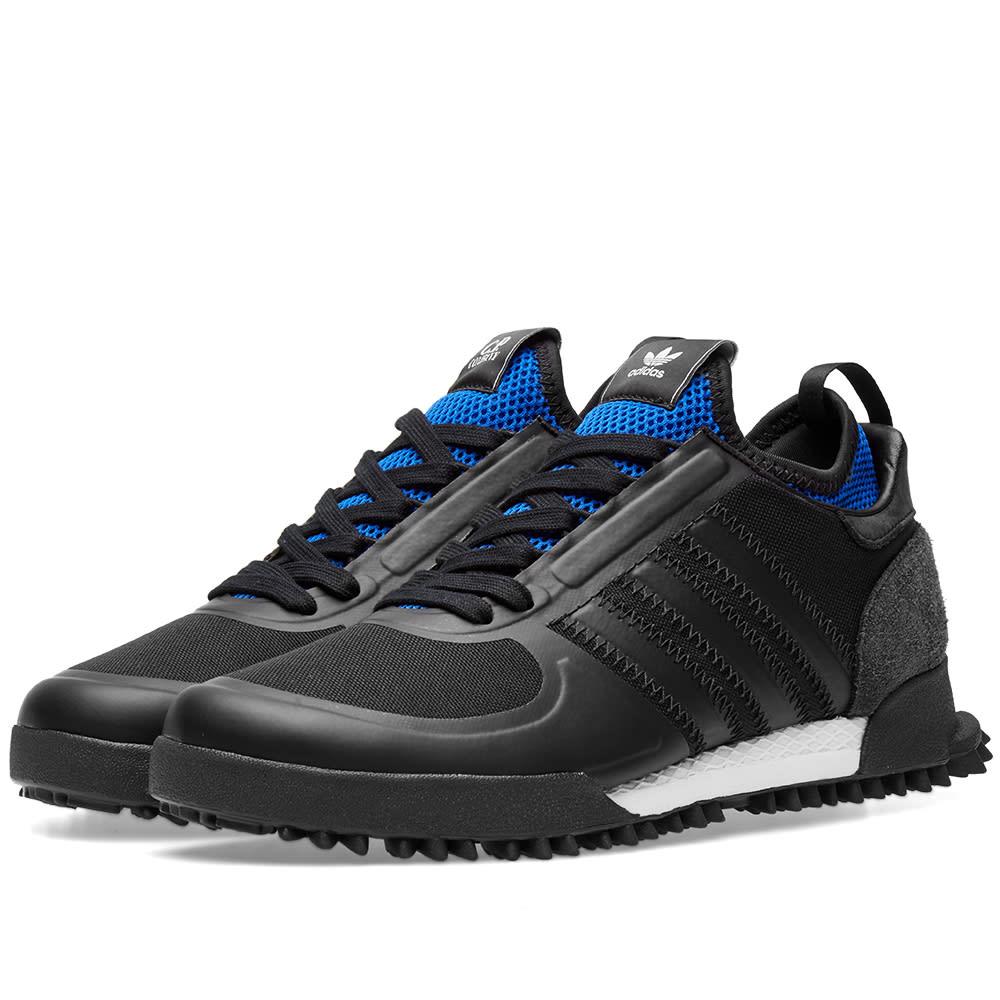 new product ca01a 2f7f9 Adidas x C.P. Company Marathon Black   Collegiate Royal   END.