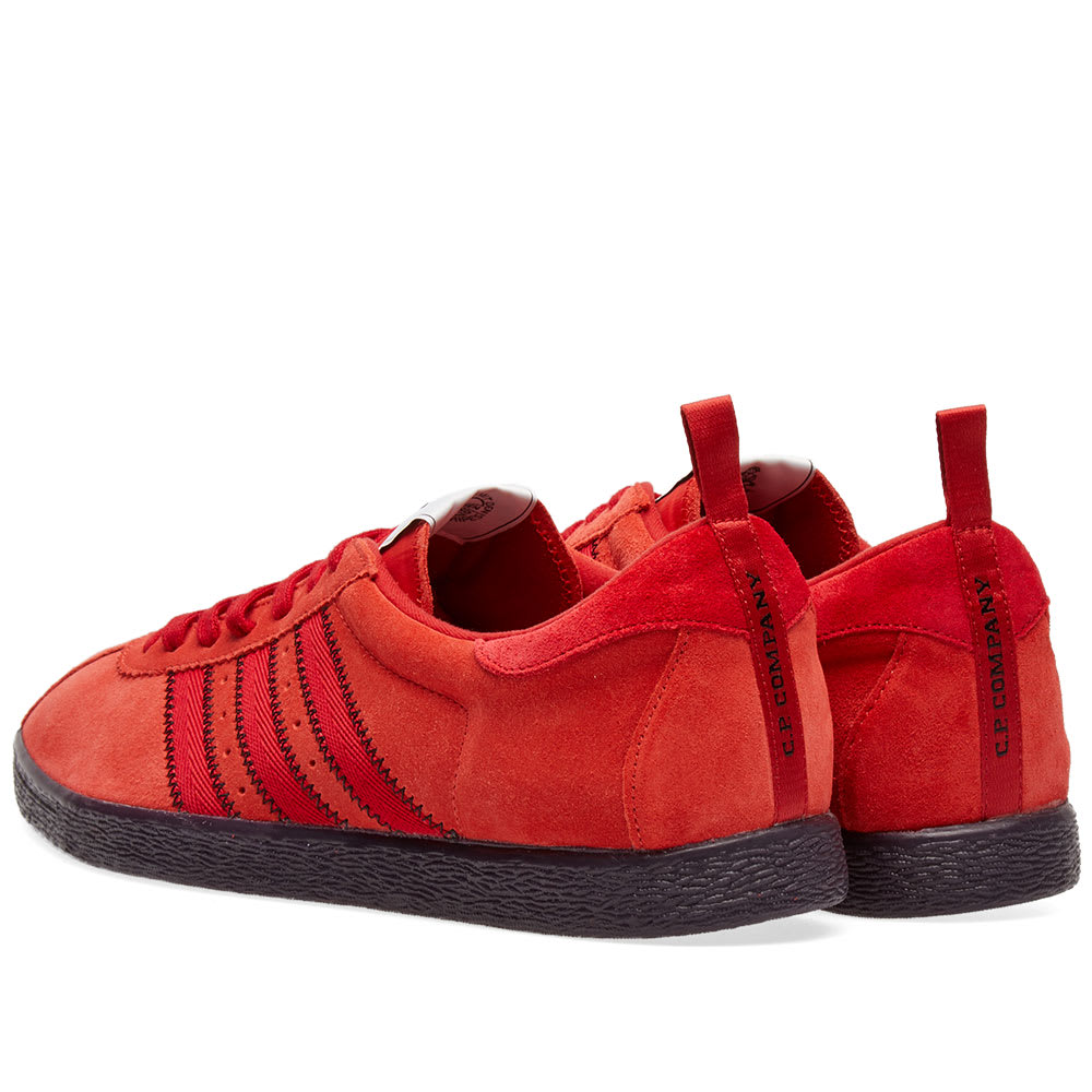 adidas Suede C.p. Company Tobacco Sneaker in Brick (Red) for