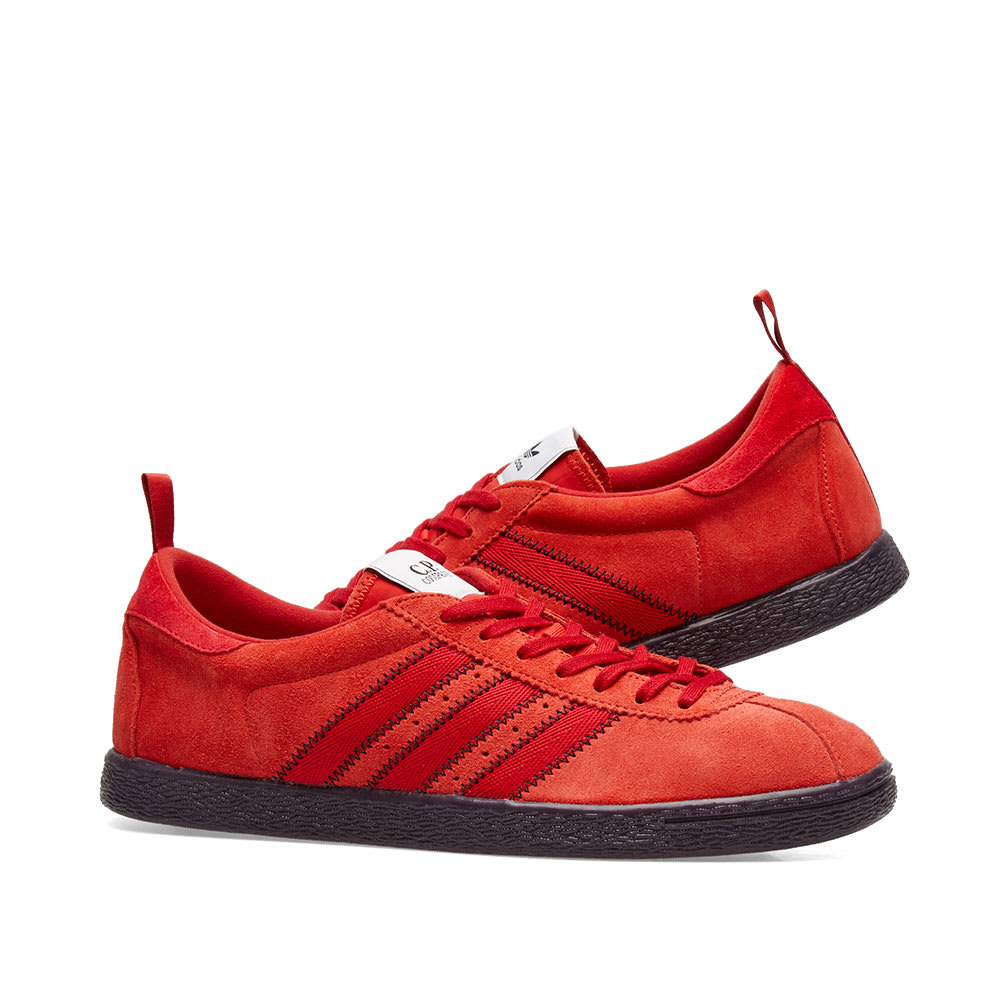 Details about Adidas Originals CP Company Tobacco Red Black UK 5 6 7 8 9 10 11 12 US C.P