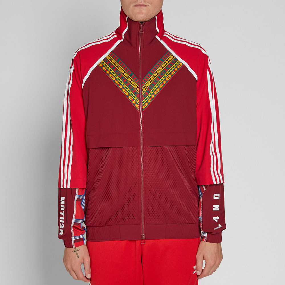 63ccb09d3 Adidas Originals by Pharrell Williams SOLARHU TT Jacket White