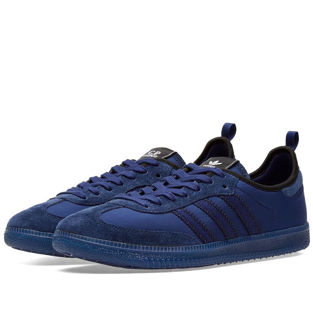 76c7d11377e Adidas x C.P. Company Samba Blue