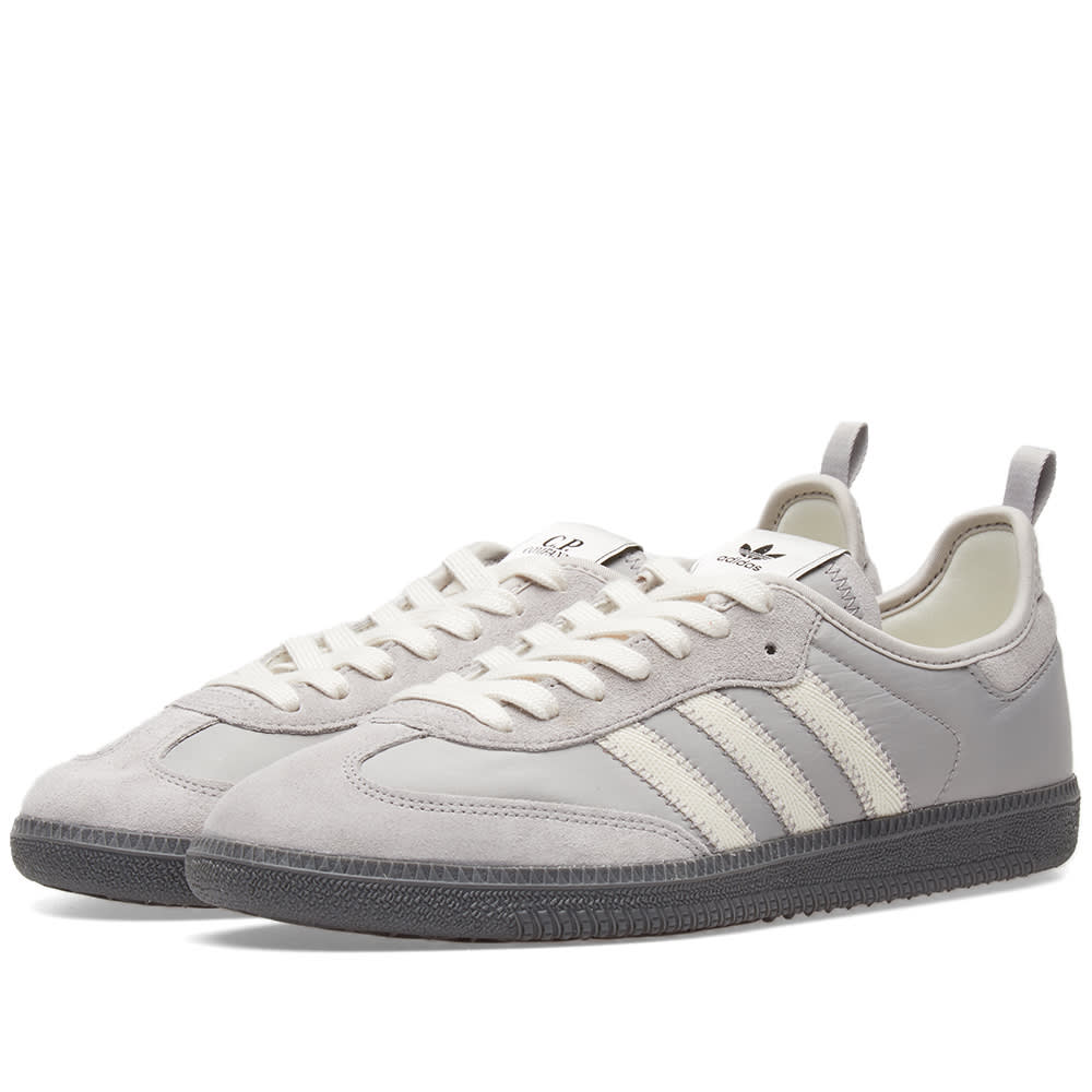 best service 9824d f41ef Adidas x C.P. Company Samba Granite   Off White   END.