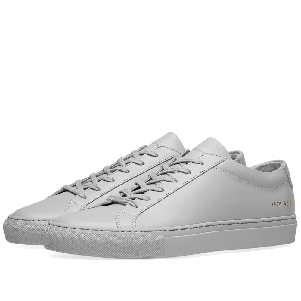 57f2efe77c90f Common Projects Original Achilles Low Grey