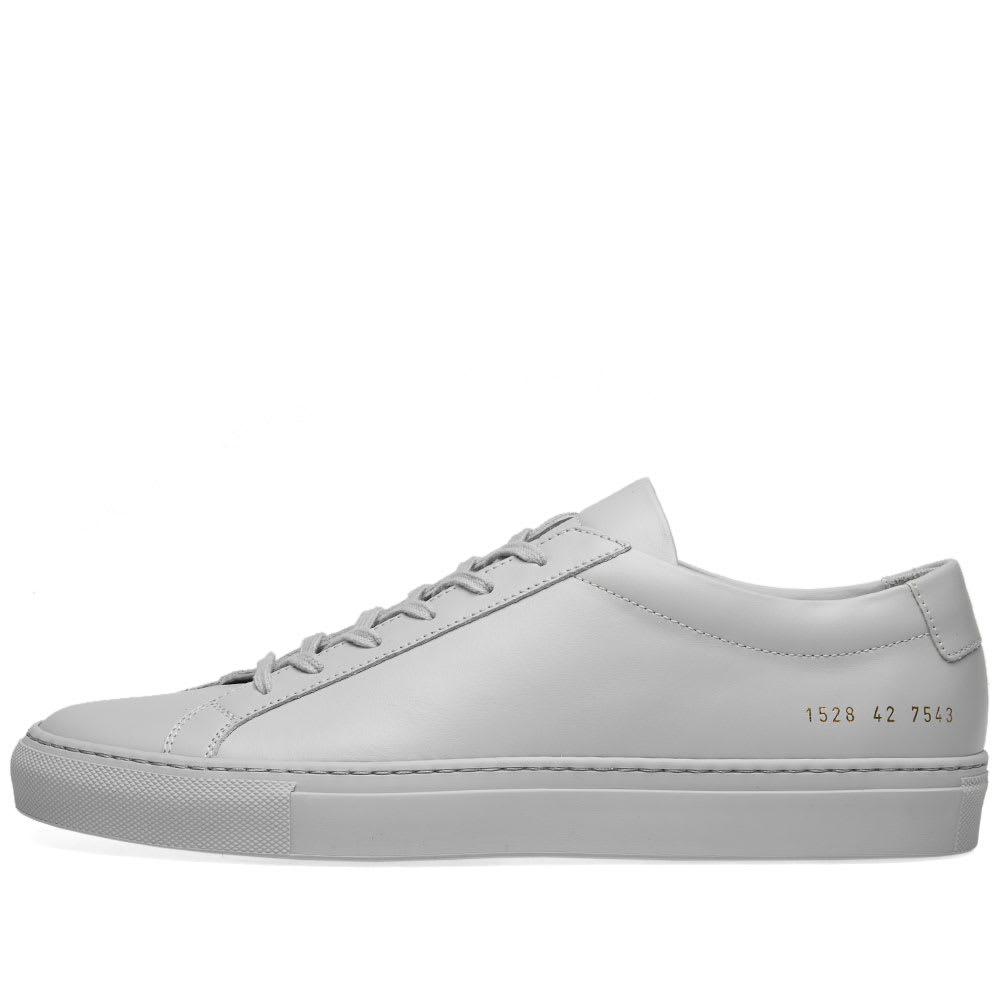 fce7f0cdcea7 Common Projects Original Achilles Low Grey | END.