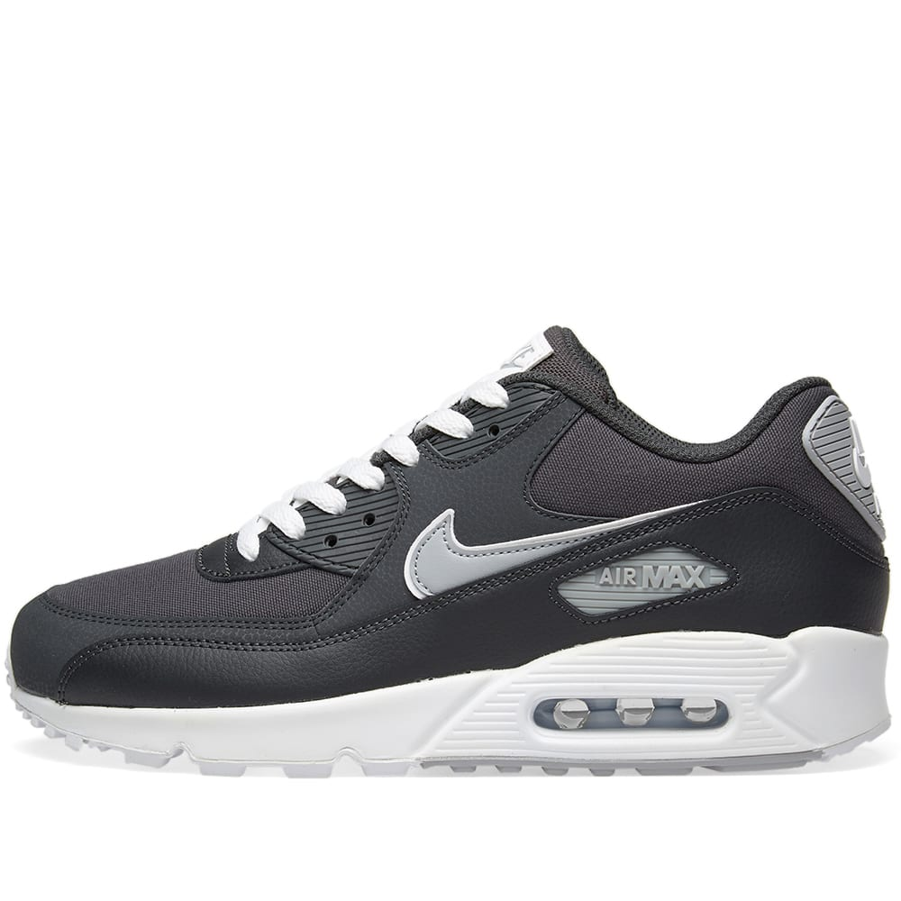 classic 20e34 ef962 Nike Air Max 90 Essential Anthracite, Wolf Grey   White   END.