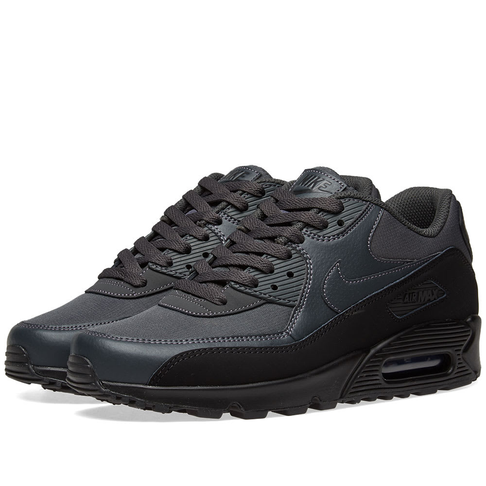 0806b962ec4 Nike Air Max 90 Essential Black   Anthracite