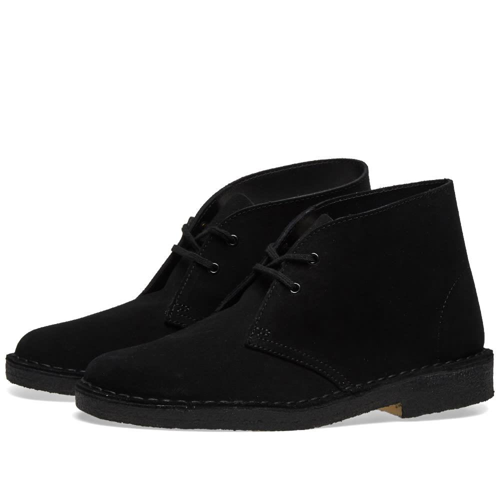 Clarks Originals Desert Boot W Black