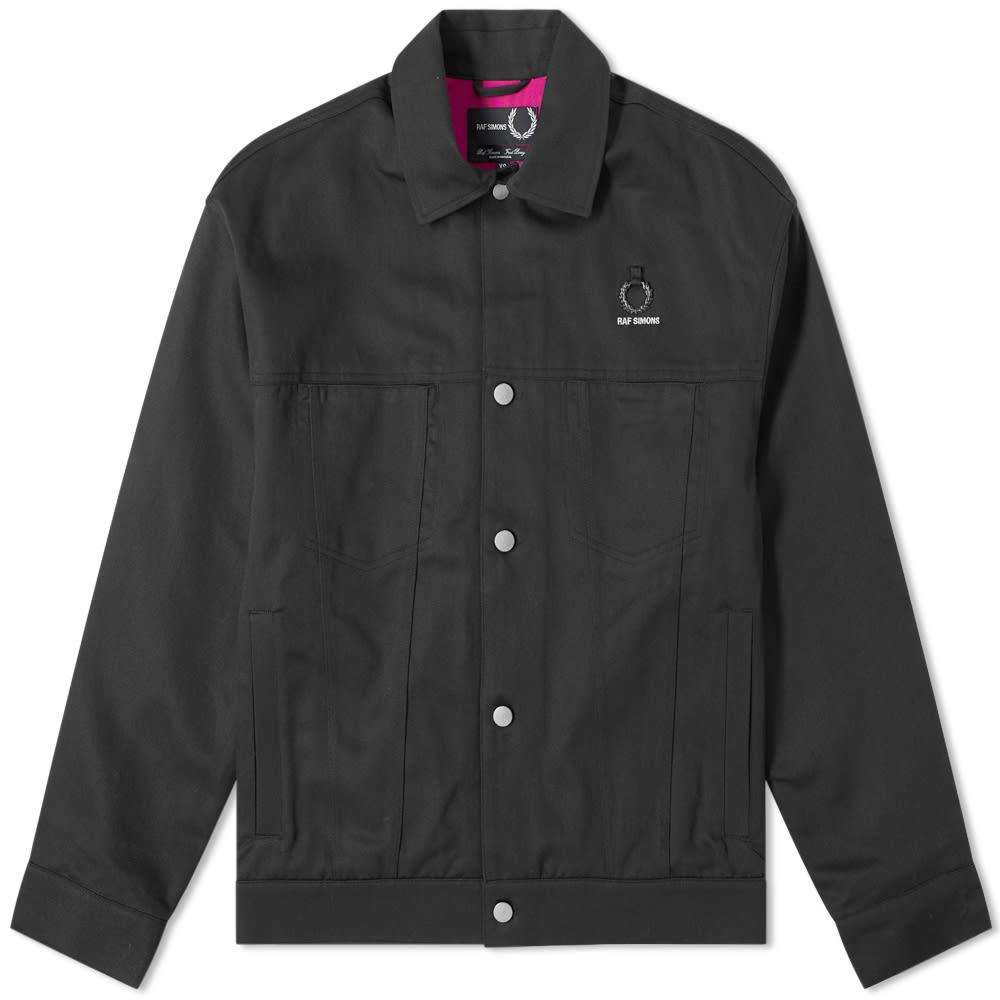 4f48a840c0a Fred Perry x Raf Simons Back Print Jacket