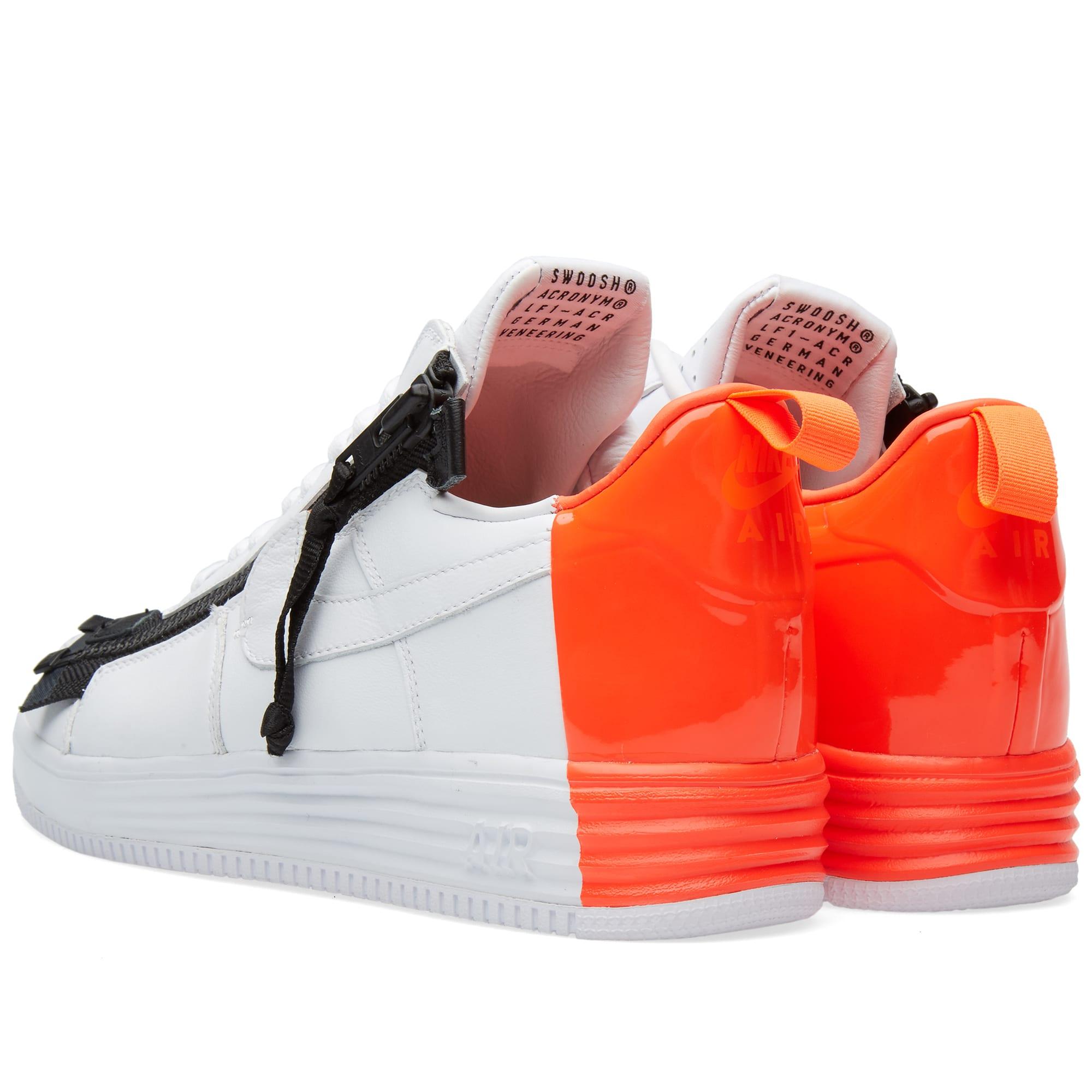 Nike x Acronym Lunar Force 1 SP White