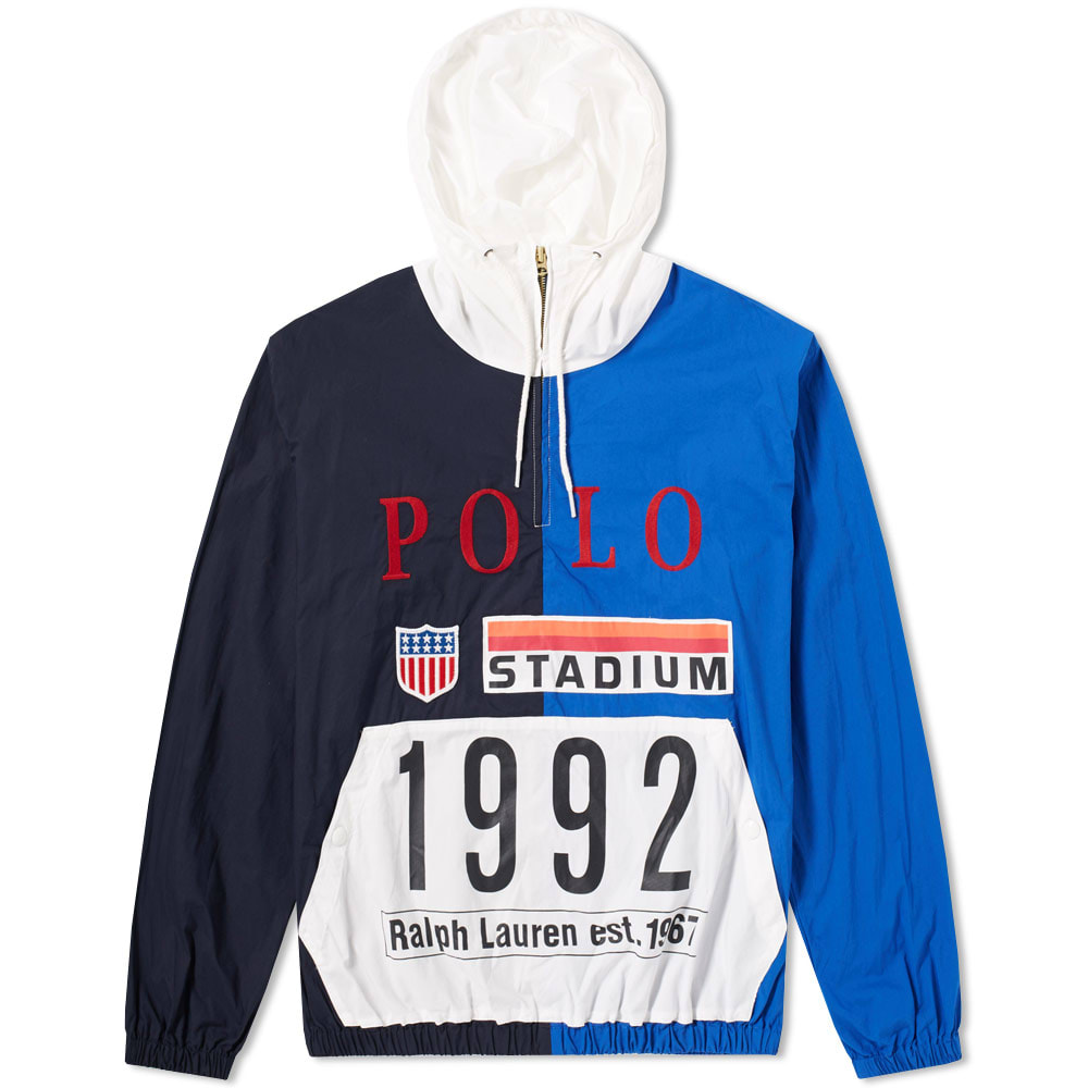 Stadium Ralph 1992 Popover Polo Lauren Jacket yv0wOm8nN