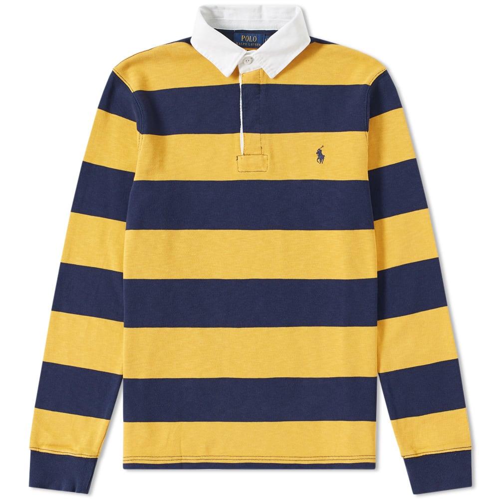 baratas para descuento 73258 101ea Polo Ralph Lauren Stripe Rugby Shirt