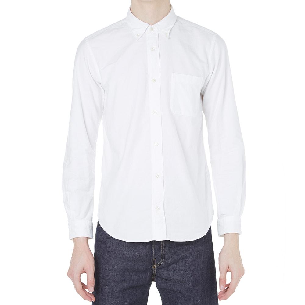 Journal standard button down oxford shirt white for White button down oxford shirt