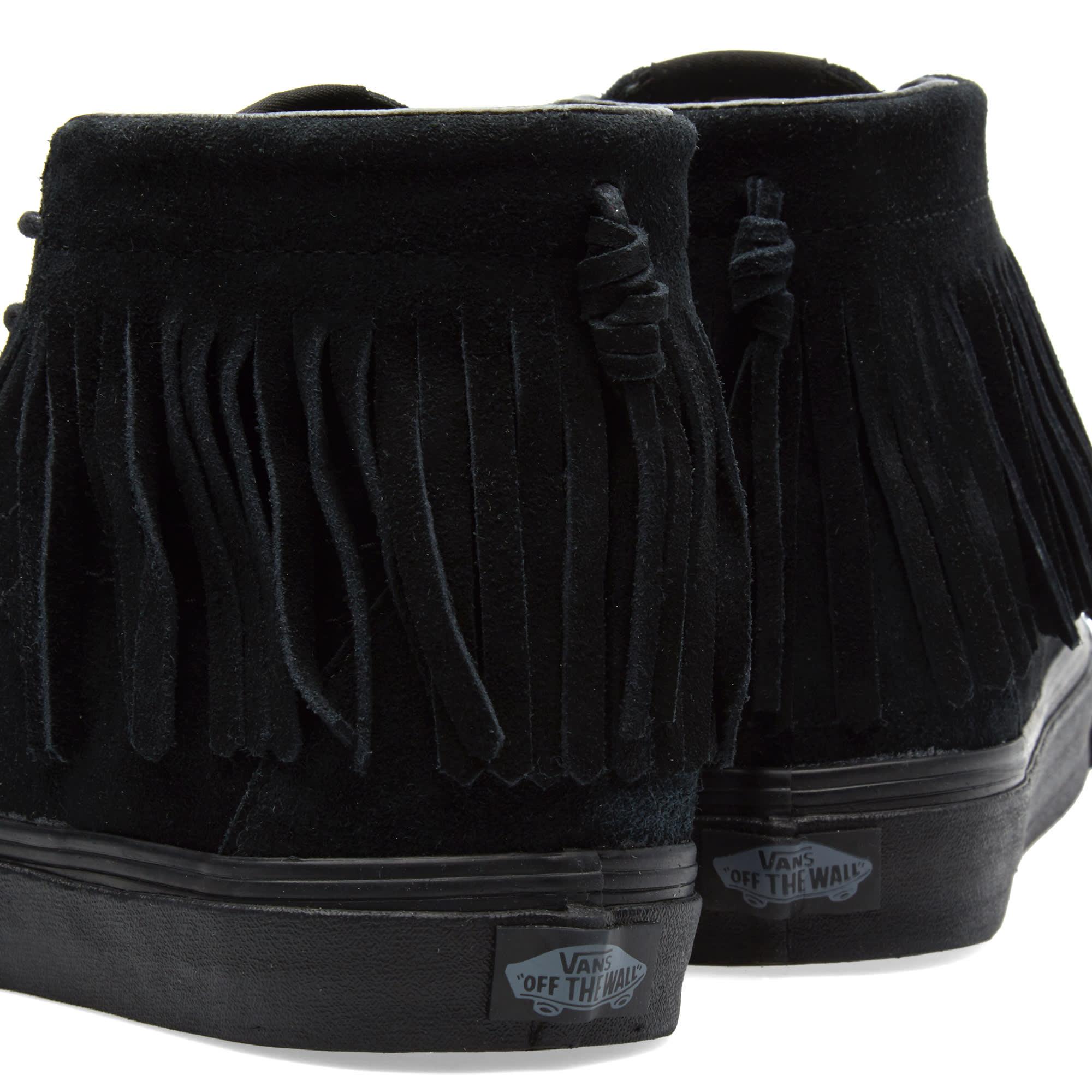 55395515b3 Vans Sk8-Hi Moc Black