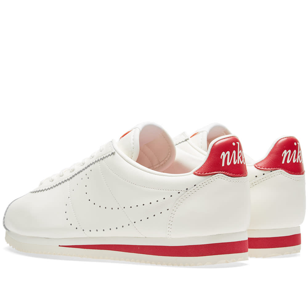 buy popular 8359f 08a4a Nike Classic Cortez Leather Premium Sail   Gym Red   END.