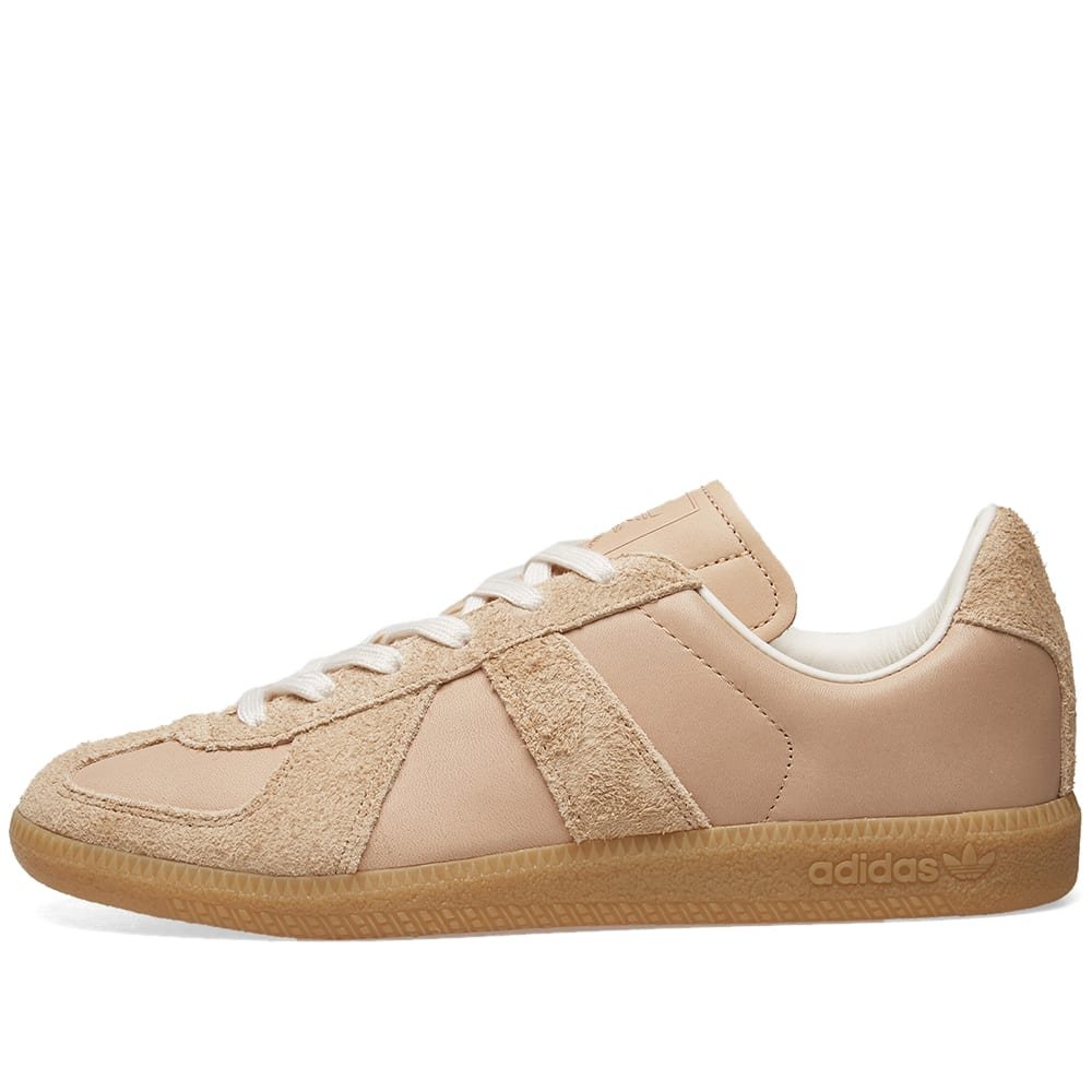 timeless design 60c91 2c03d Adidas BW Army Premium Leather Pale Nude   Chalk White   END.