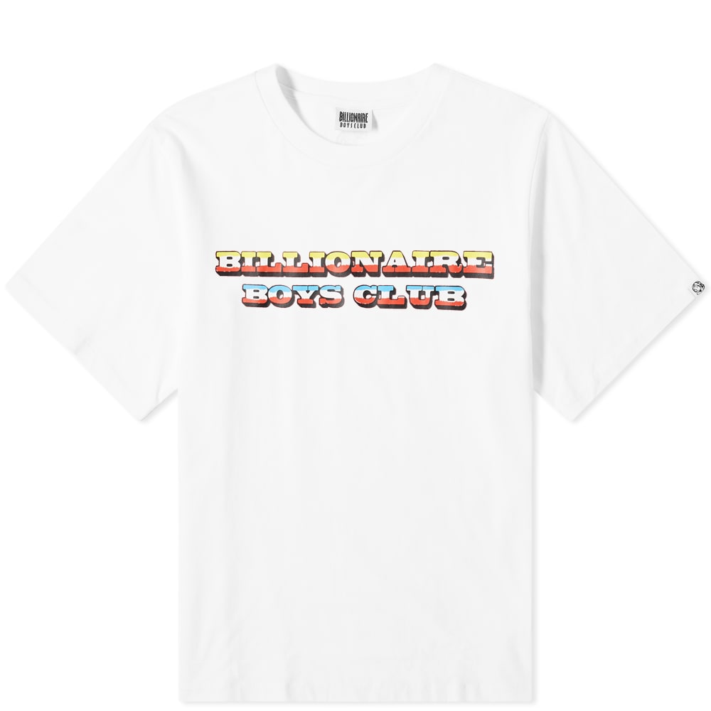 Billionaire Boys Club Gradient Logo Tee by Billionaire Boys Club
