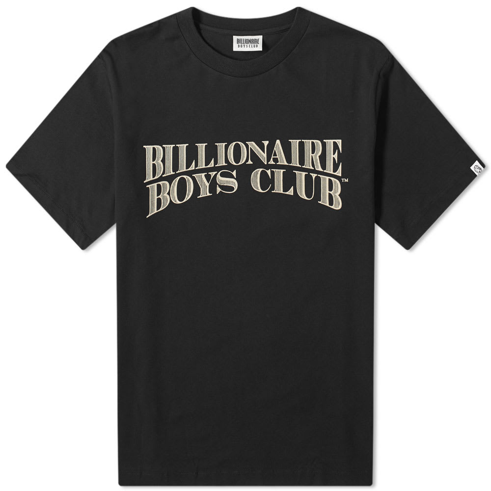 Billionaire Boys Club Logo Graphic Slub Tee by Billionaire Boys Club