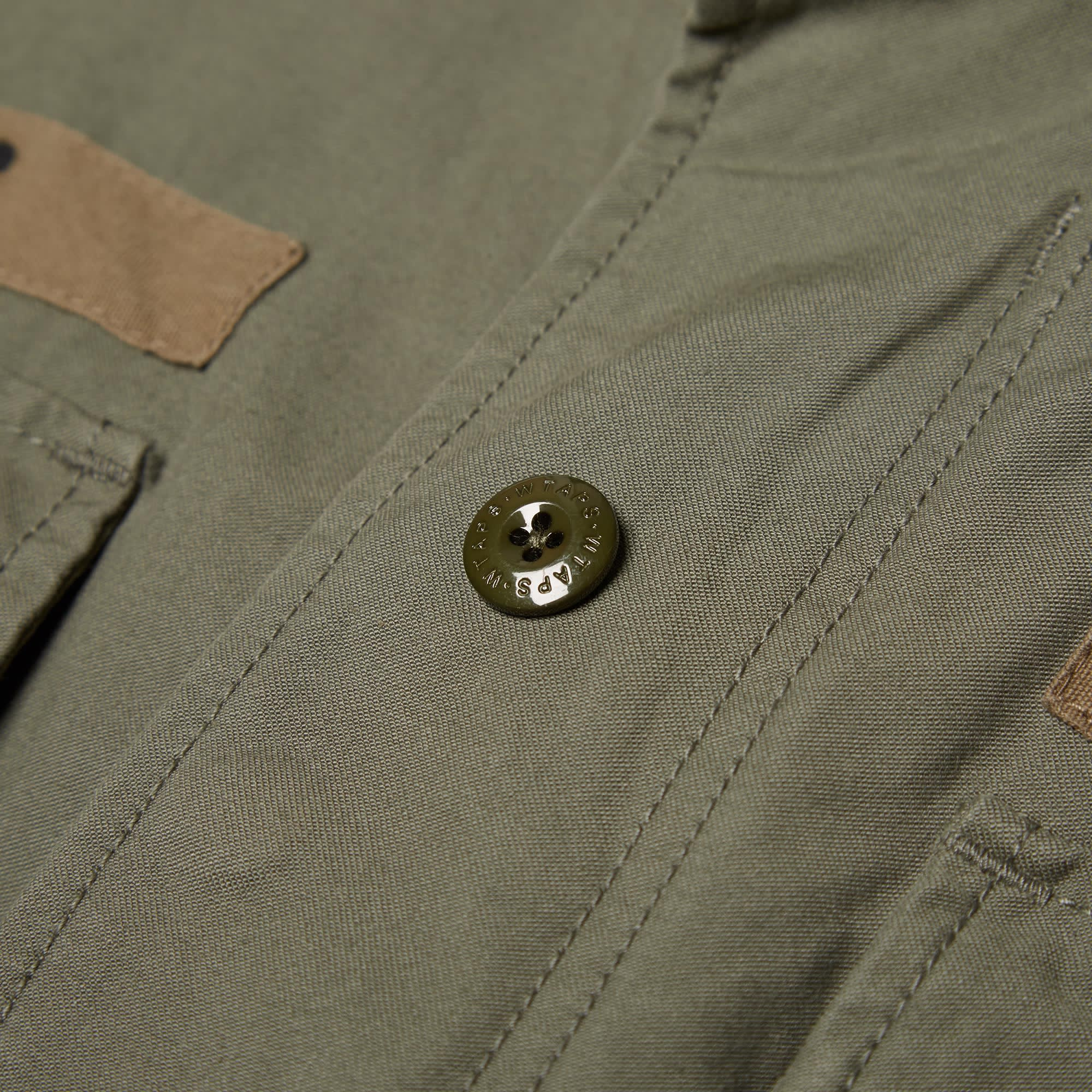 ae4ebd0428857 WTAPS M-65 Jacket Olive Drab | END.