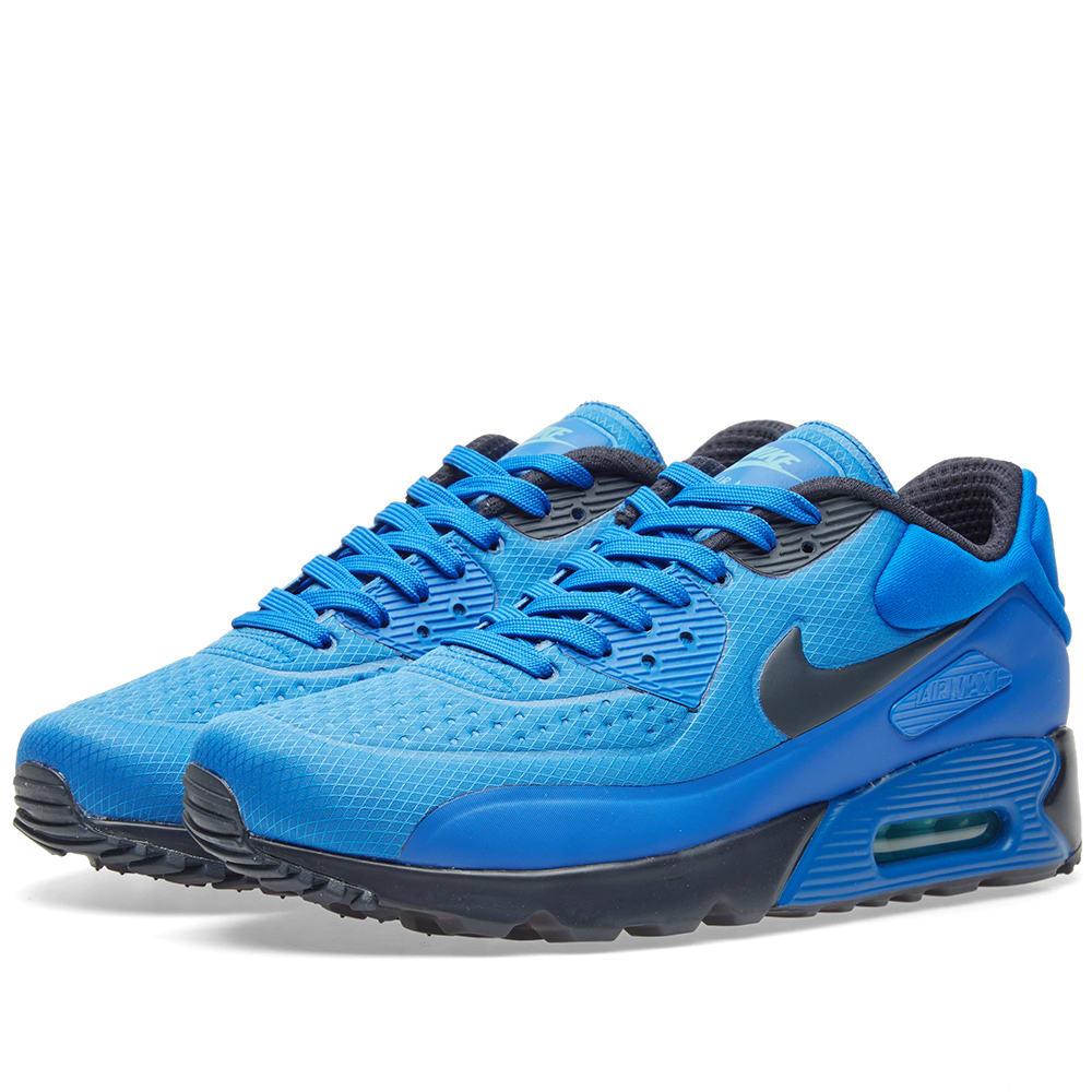 sports shoes 940a4 cc583 Nike Air Max 90 Ultra SE. Hyper Cobalt   Dark Obsidian
