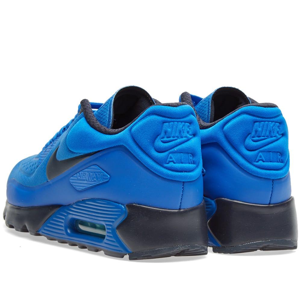 separation shoes 33472 235ec Nike Air Max 90 Ultra SE Hyper Cobalt   Dark Obsidian   END.
