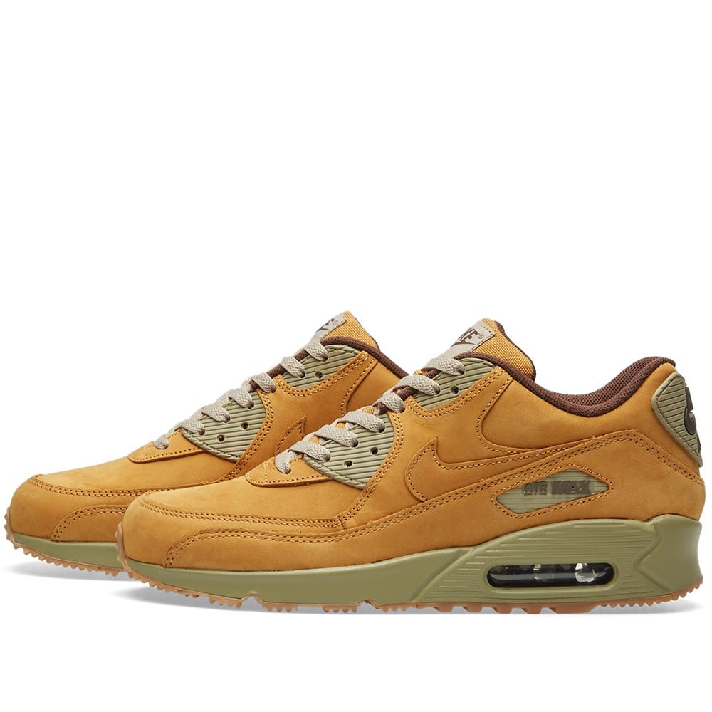 0cd914604f2b9 Nike Air Max 90 Winter Premium Bronze & Baroque Brown | END.